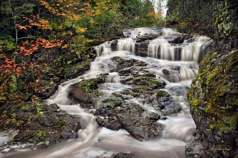 24 - Gooseberry:  Nelson Falls
