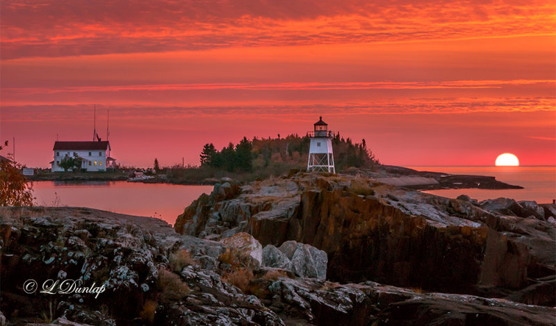 130.31 - Grand Marais:  Red Sunrise