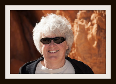 Debi at Red Canyon