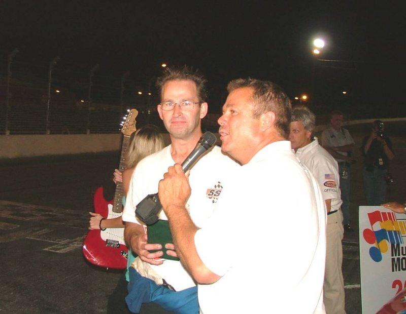 Mark Day Wins 2006 NASCAR Late Model Championship.