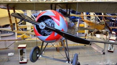 Nieuport 28C.1, National Air and Space Museum, Steven F. Udvar-Hazy Center