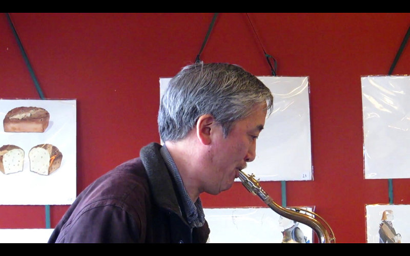 Guest saxophonist with Betty Shaw Trio