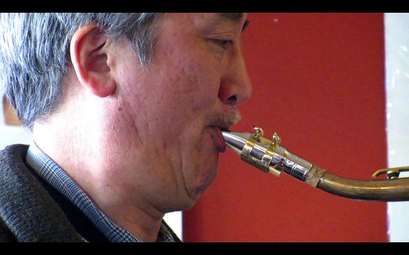 Guest saxophonist