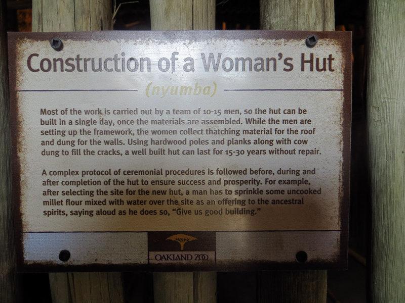 A Womans Hut. #0937