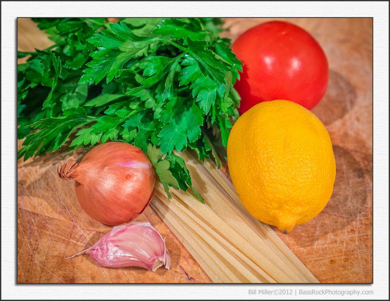 Lemon and Herb Linguine