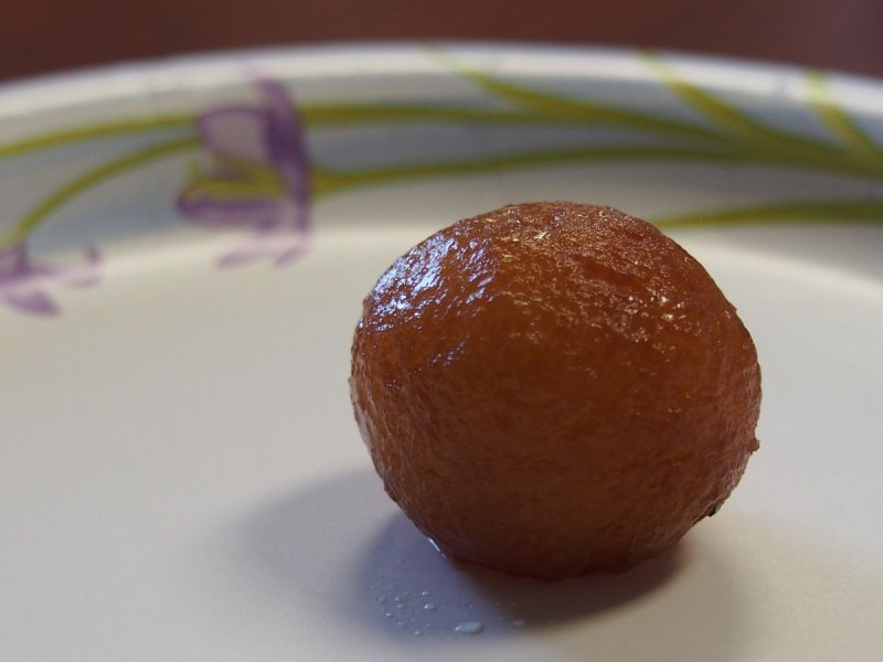 Gulab Jamun, home made by ISU Student Madhavi Anugolu PC130181.JPG