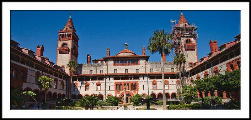 Flagler College Courtyard Entrance/ Wide