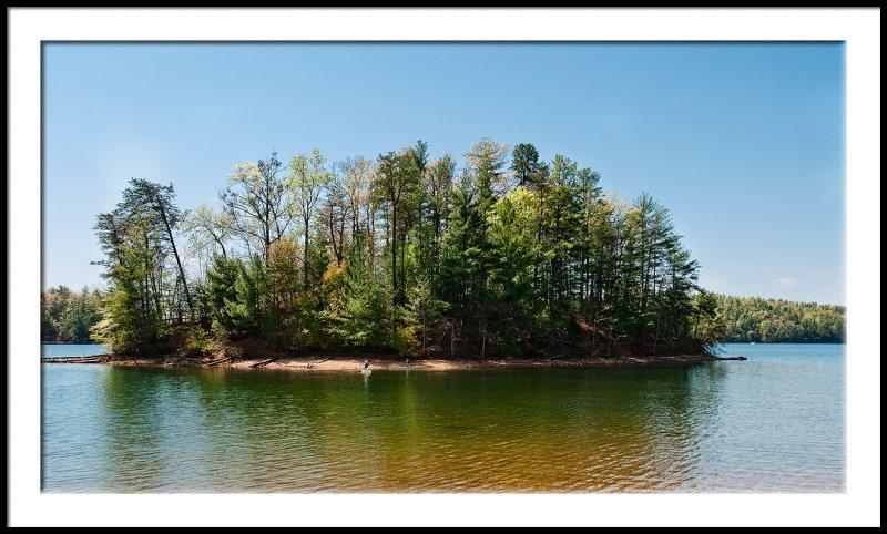 Lake James Island