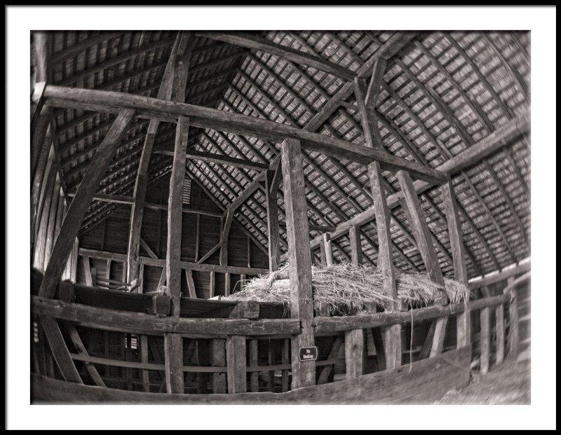 Old Salem Barn mono