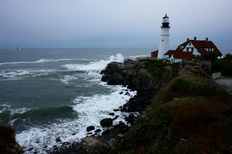 DSC09953 portland head light lighthouse by donald verger a taste of winter to come