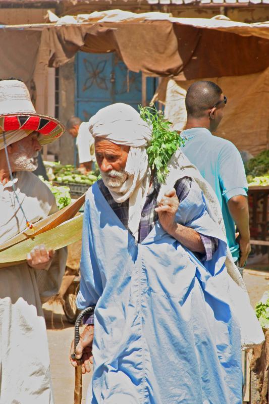 Ouargla elders are beautiful.