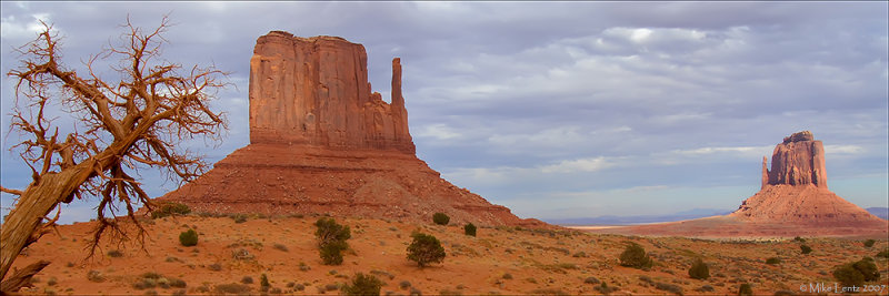 Monument Valley   (panoramic)