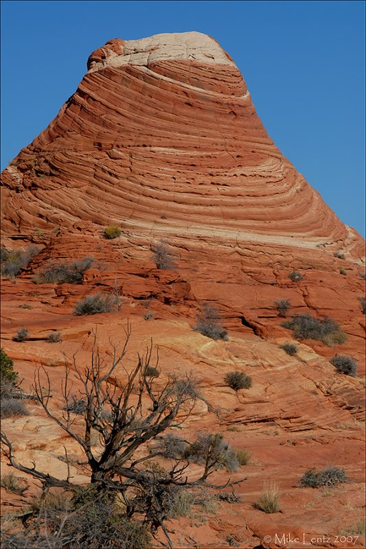 Sandstone teepees in Coyote Butte north