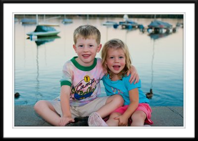 Ryan and Caitlin at Lake Harriet