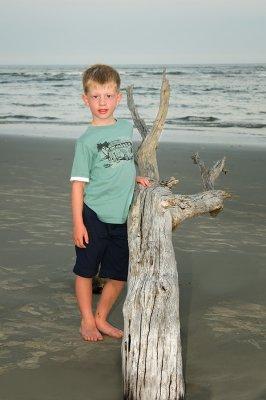 Ryan at the beach