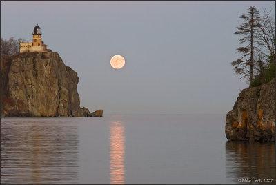 Split rock to Ellingson Island