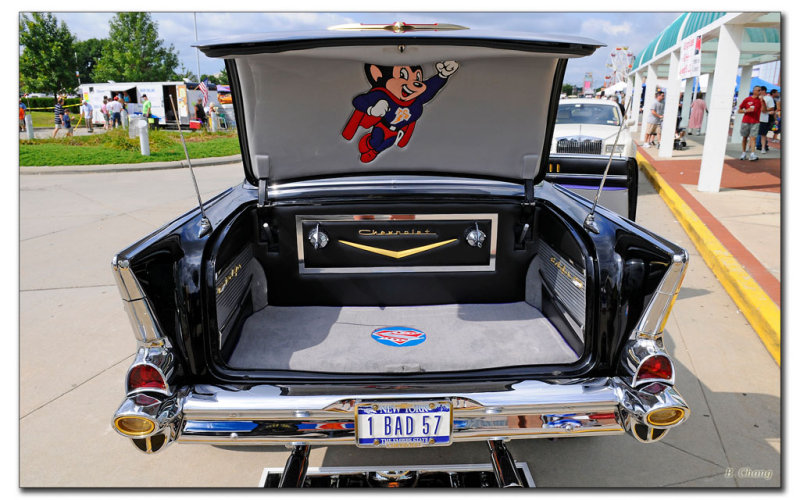 Chuck Zitos 57 Chevy Beast from the East