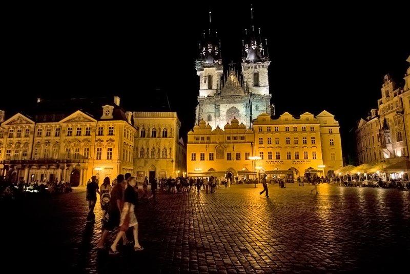 Prague, Tyn Cathedral