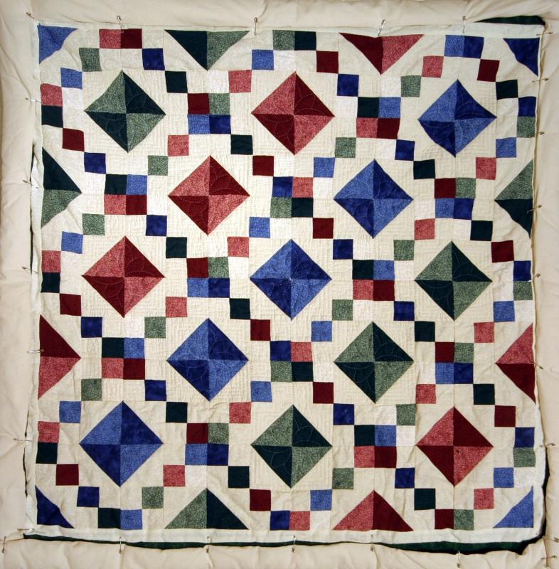 Jewelbox Wall Hanging Quilt