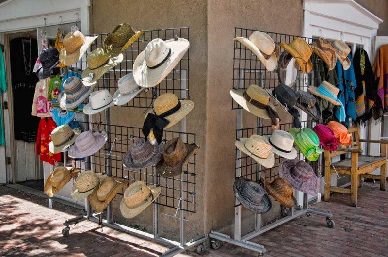 Outdoor Shopping, Santa Fe