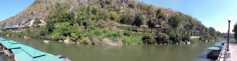 Wampo Viaduct  with Train