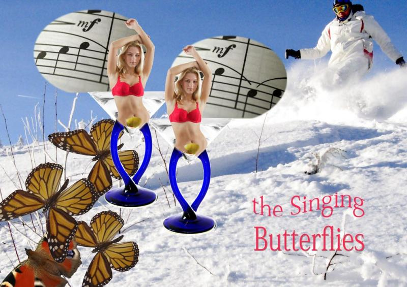 singing butterflies