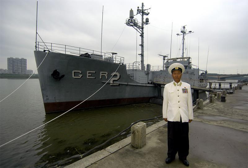 North Korean hero