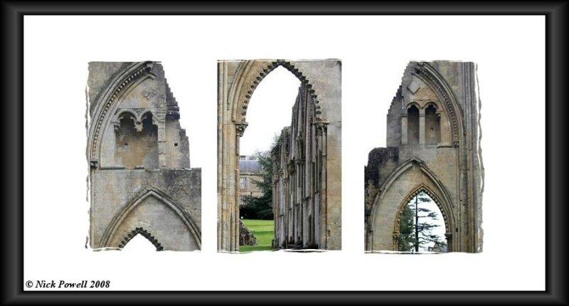 Glastonbury Abbey Triptych