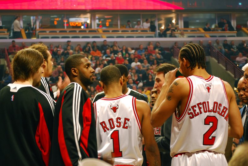 Bulls Huddle
