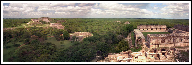 Panoramic from the Pyramid of the Magician