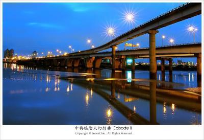 ¦±½u . ¤¤¿³¾ô Curve . ChungHsing Bridge
