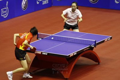 Li Xiaoxia (China) vs Li jiao (Nederlands)