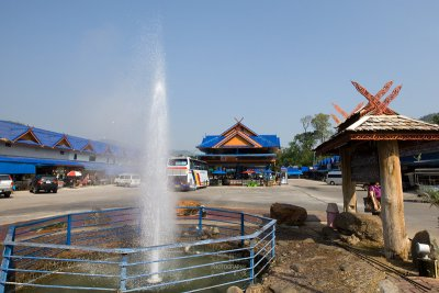 Hot Spring at the Khun Chae National Park