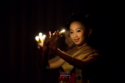 Candle dance