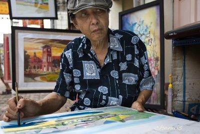 Batik artist GM Choo (7362)