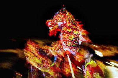 Dragon dance, Malacca