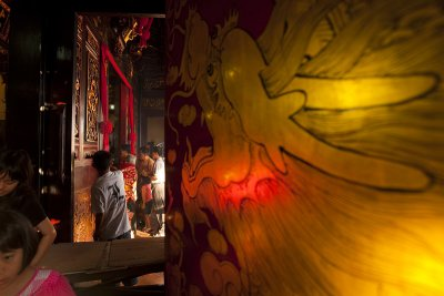 Golden dragon door (Malacca)
