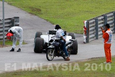 Michael Schumacher couldnt believe his luck