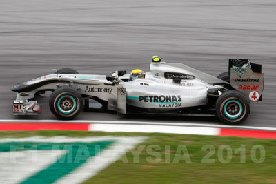 Third: Nico Rosberg