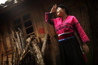 Yao minority maiden (China)
