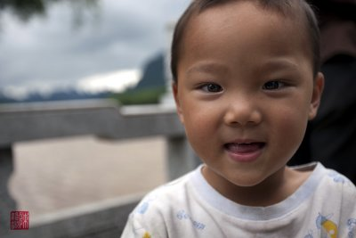 Happy child, Xing Ping