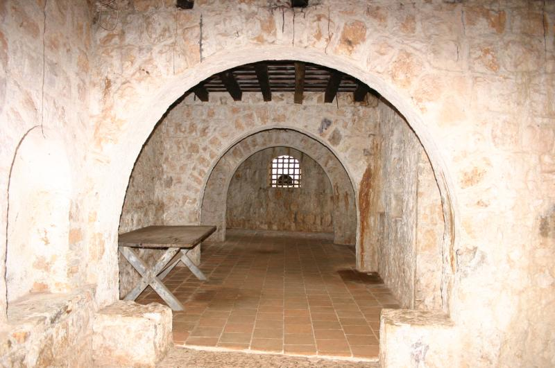 Inside El Castillo de San Felipe