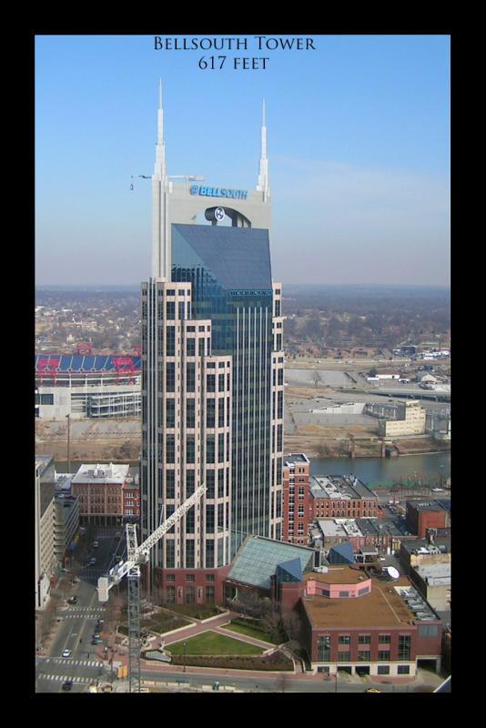 Bellsouth Tower, Nashvilles tallest (for now)