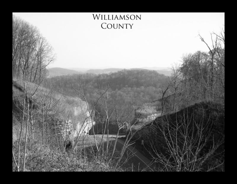 Williamson Countys hills and valleys