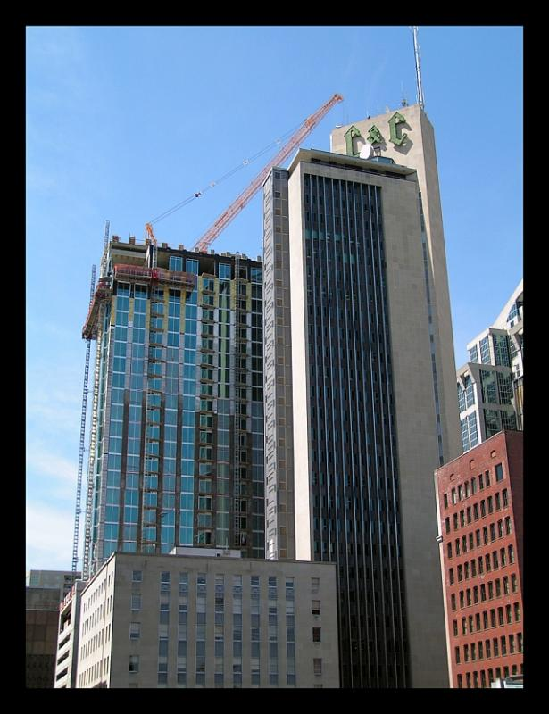 Viridian Tower and the historic L & C Tower