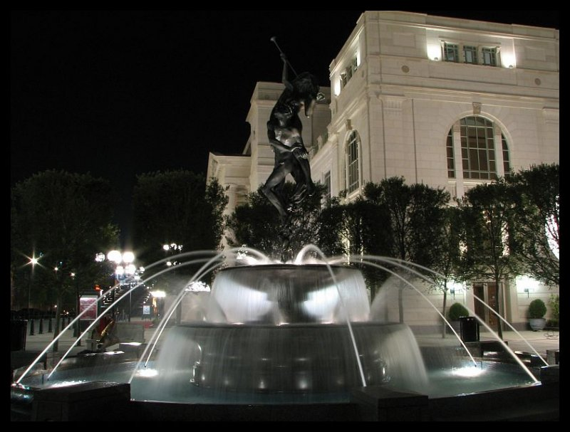 The Schermerhorn Symphony  Center Fountains