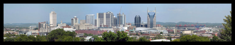 The Changing Skyline of Nashville