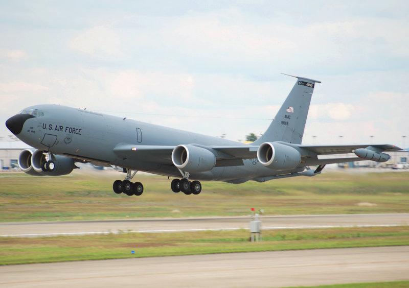 US Air Force Boeing KC-135 (Boeing 717-100) Stratotanker (58-0118) Fairchild Air Force Base
