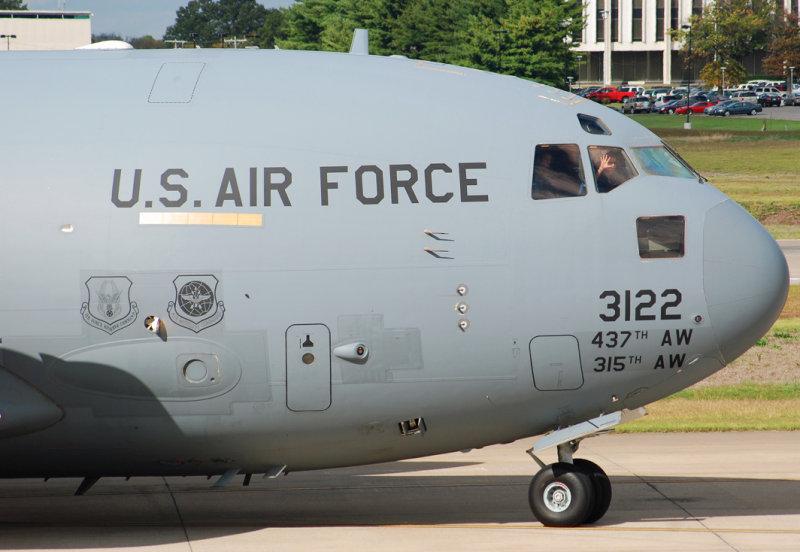 US Air Force Boeing C-17A Globemaster III (03-3122) Charleston Air Force Base