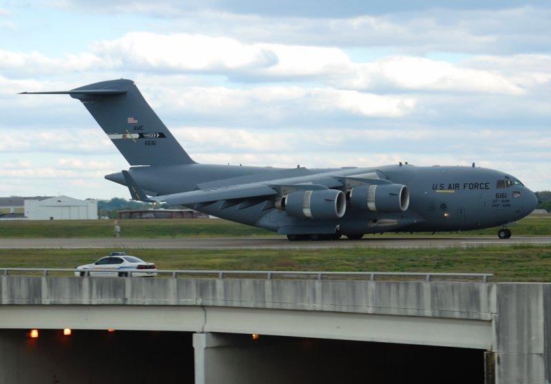 US Air Force Boeing C-17A Globemaster III (06-6161) Travis Air Force Base